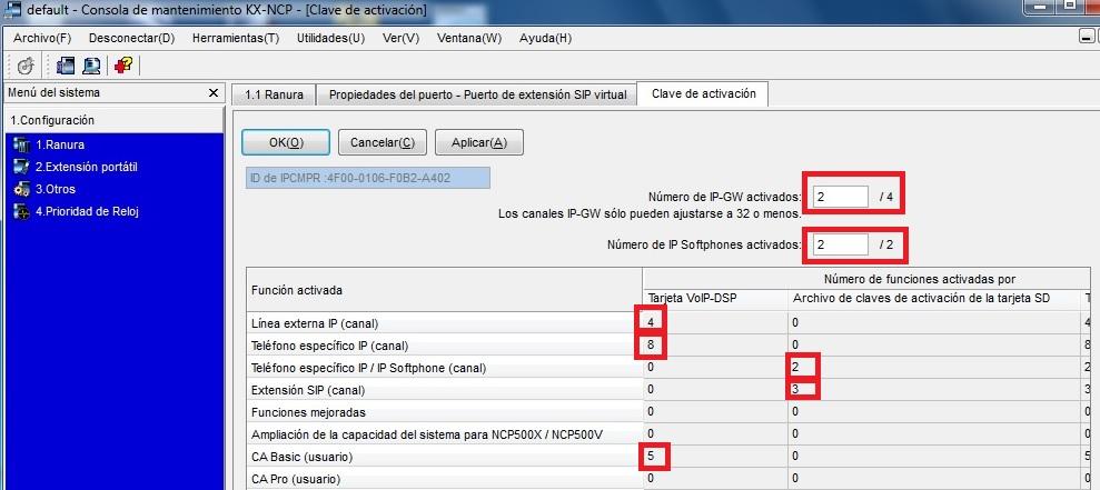 Activacion licencias NCP500_1