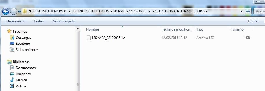 Activacion licencias NCP500_3